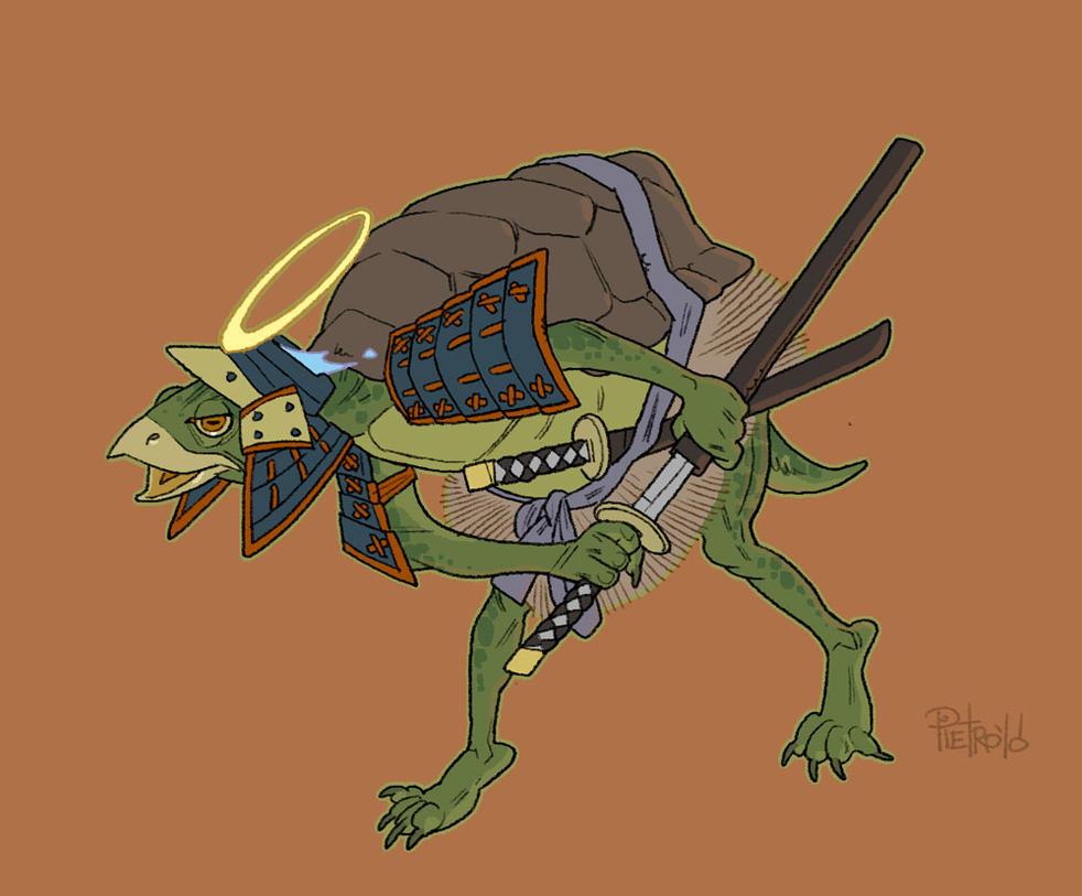 Kappa samurai by pietro-ant