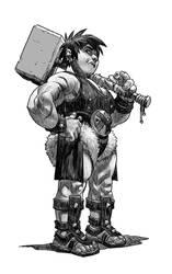 Dwarf by pietro-ant