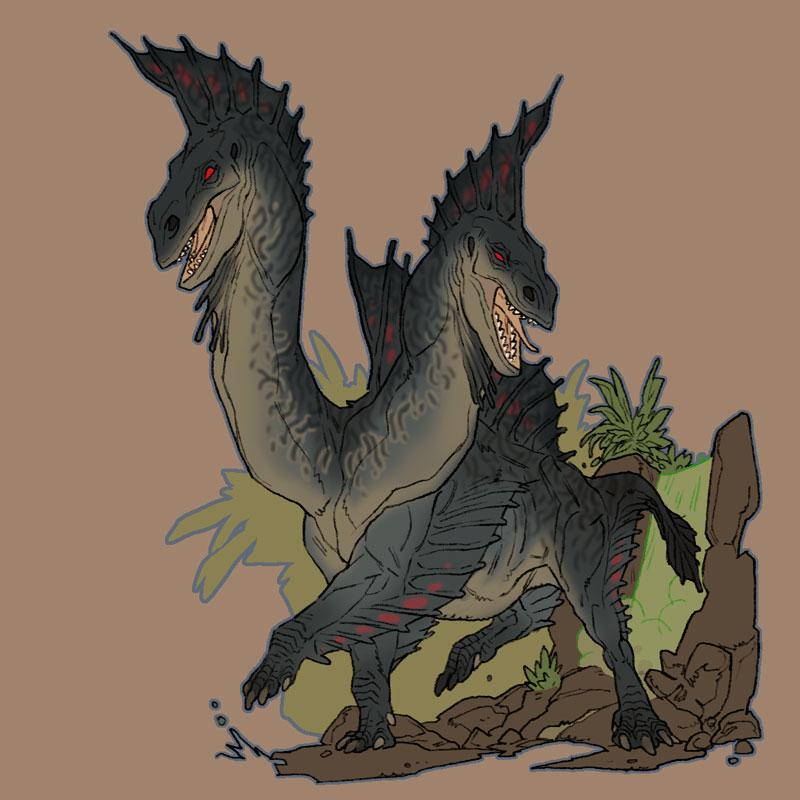 Hydra by pietro-ant