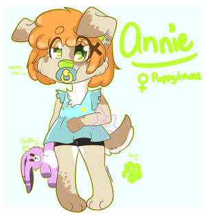 Annie Reference sheet [baby fur]