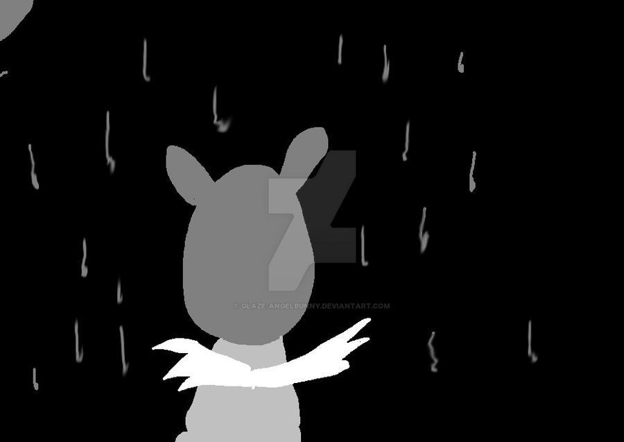 Glaze in the rain by glaze-angelbunny