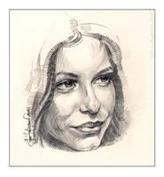 Cool Woman Portrait by Lui-freelancer