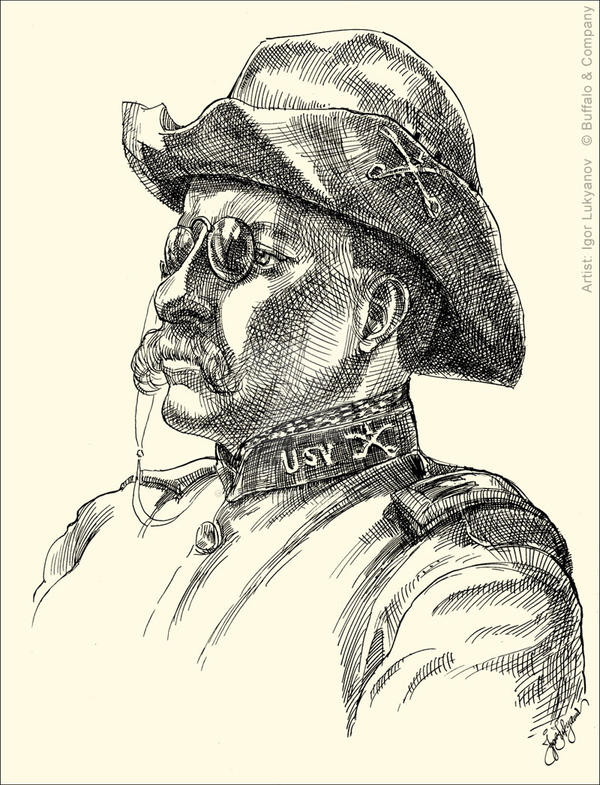 Teddy Roosevelt by Lui-freelancer