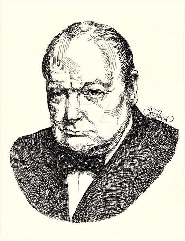 Churchill by Lui-freelancer