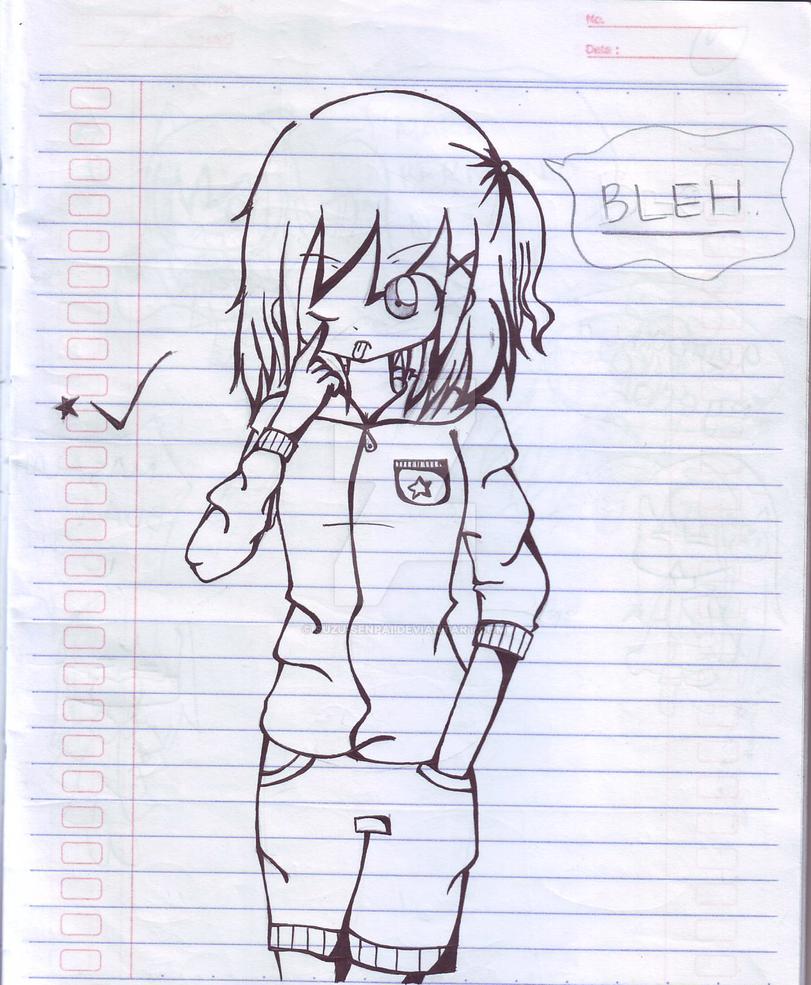 BLEH. :P by Suzu-senpai