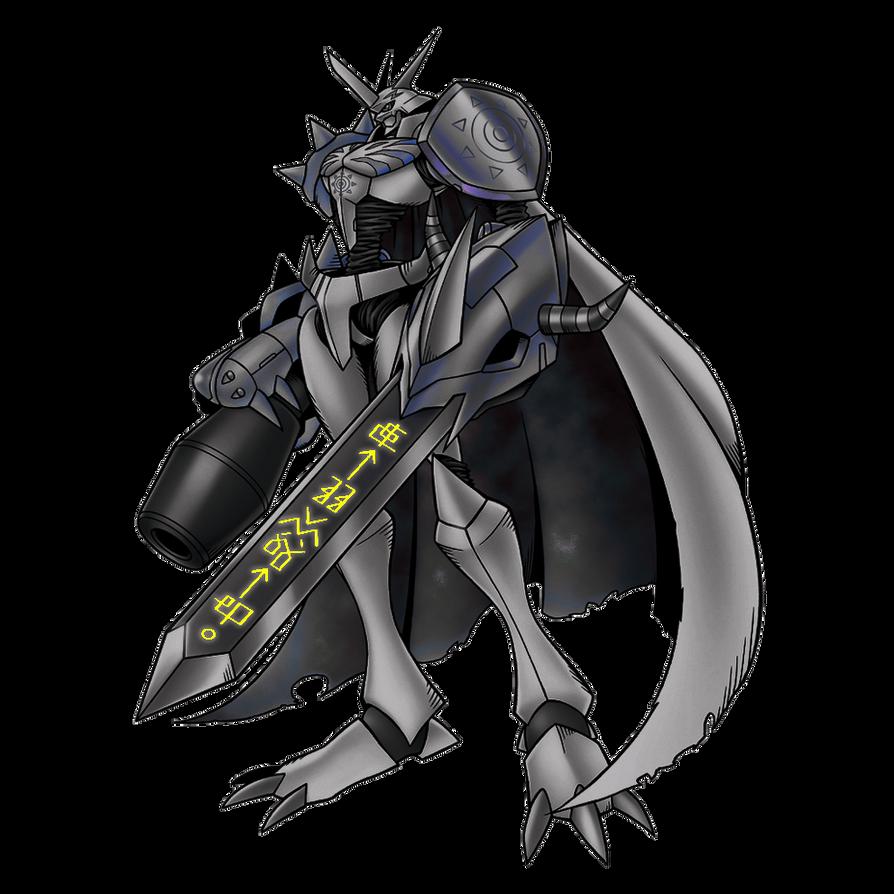 Dark Omegamon by ZeroYT on DeviantArt