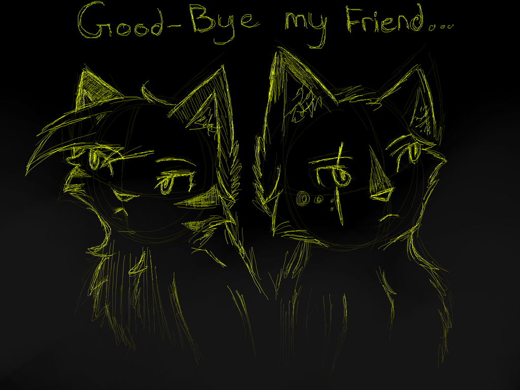 Farewell, old friend. by LiL-Lolah