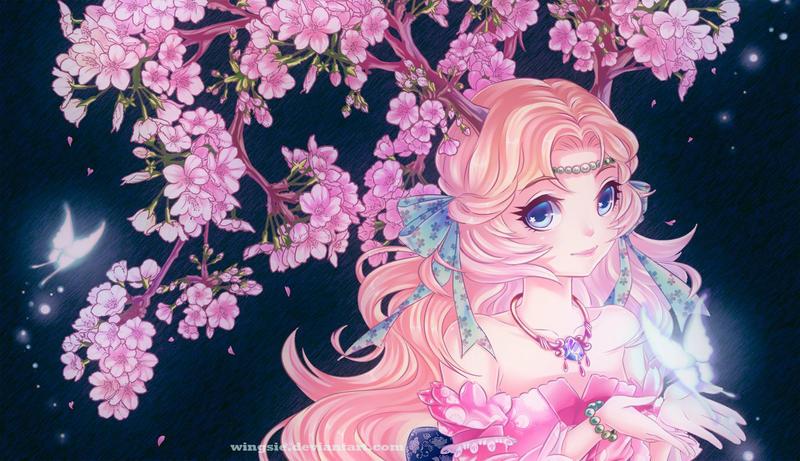 Spring goddess by Wingsie
