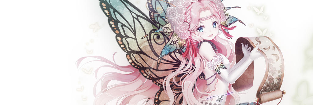 Butterfly fairy by Wingsie