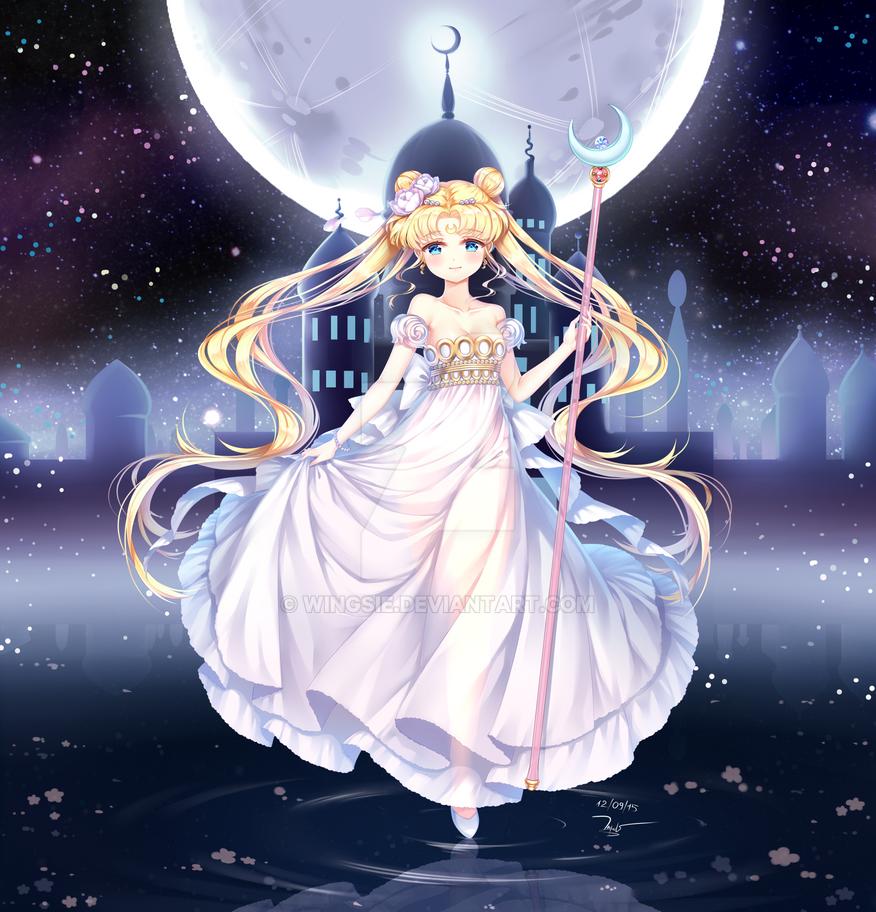 Princess Serenity by Wingsie