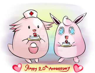Happy Pokemon Day  - 20th Anni by Wingsie