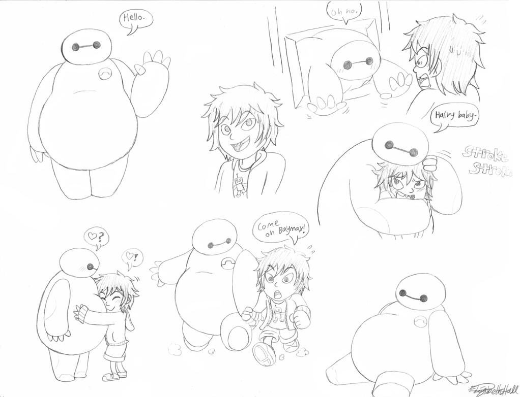 Hiro And Baymax by Zenshii