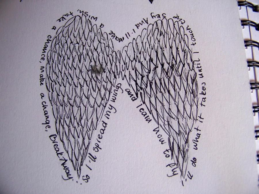 Guardian Symbol Tattoo Guardian Angel Wings Tattoos