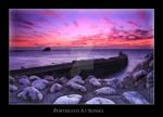Sunset at Portreath, Cornwall