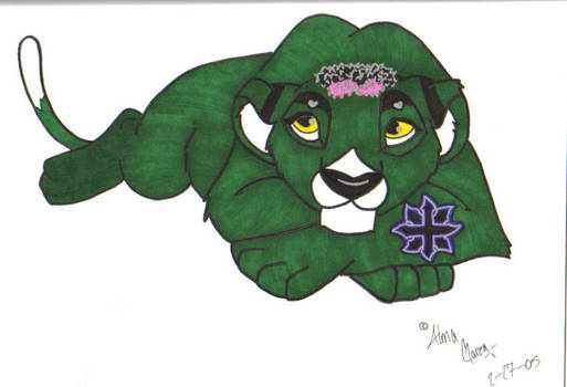 Toxic lion form- for cherise