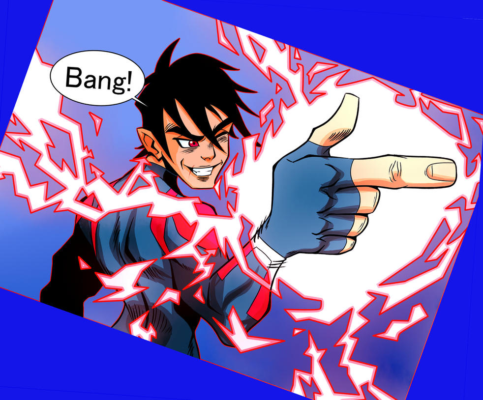 superboy by Ittonn-da