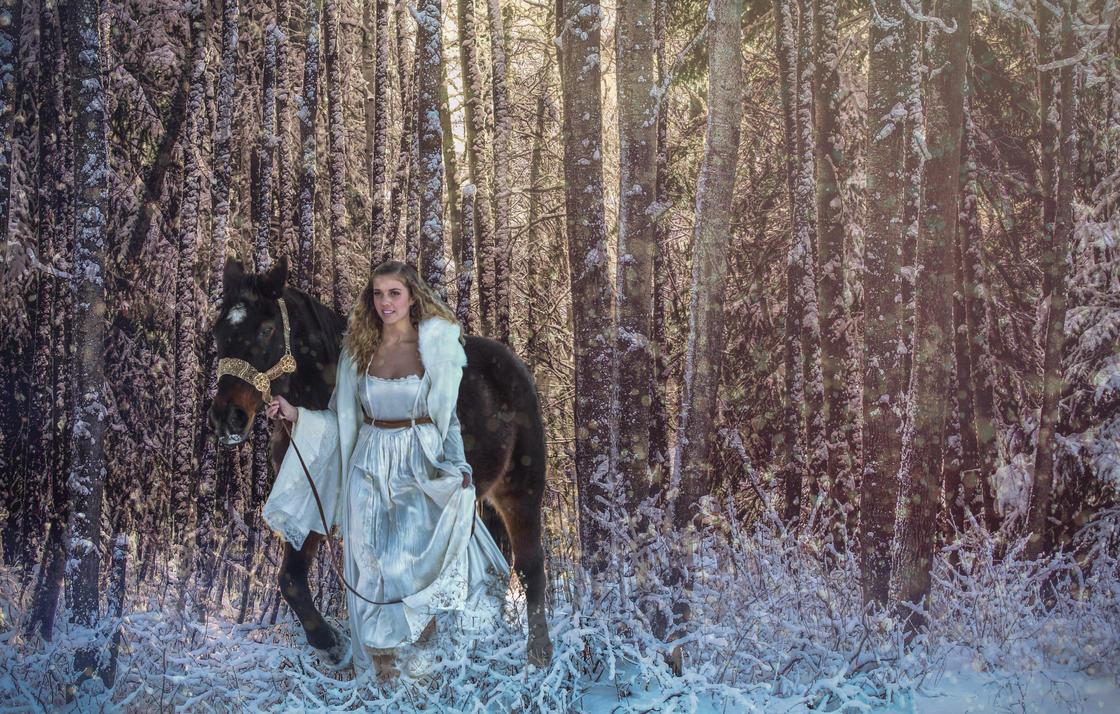 Christine in the Woods by DawnAllynn