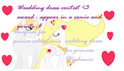 Contest of Weddings dress and Uniform by cutecutederpypony14