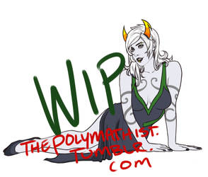 Porrim Maryam WIP 2 by EvermorePandemic