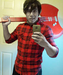 Marshall Lee Cosplay by EvermorePandemic