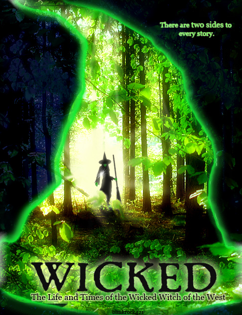 Wicked Movie Poster by blinkrock421