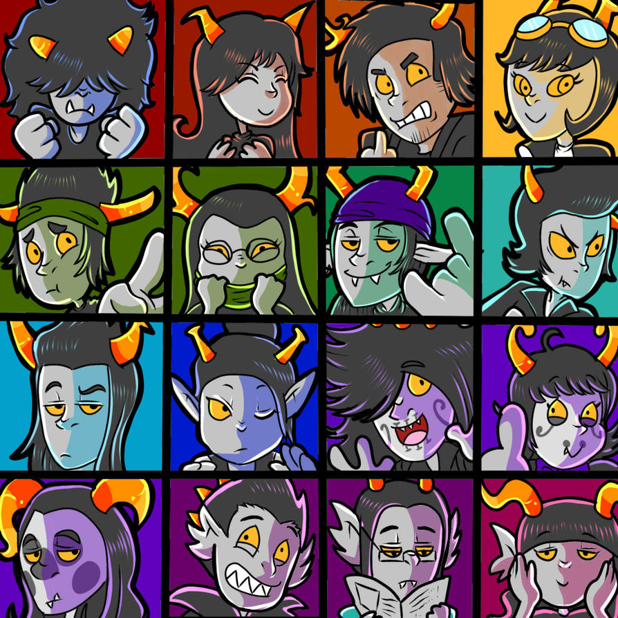 Fantrolls Everywhere by Coffeetology
