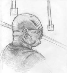 Bald Man by SolarstoneEnterprise