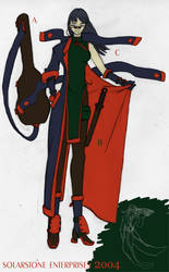 Assasin Costume 2 by SolarstoneEnterprise