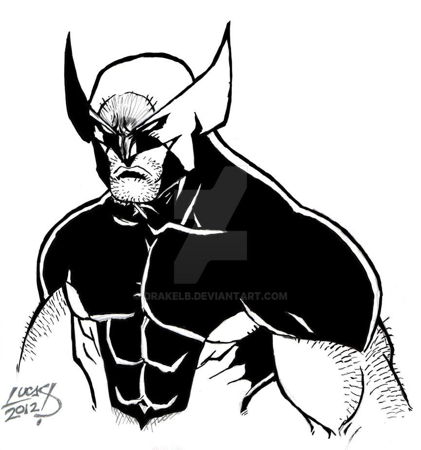 Wolverine Digital Inks by Drakelb