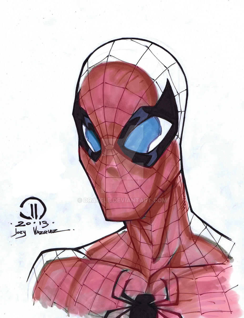 Spidey by Drakelb
