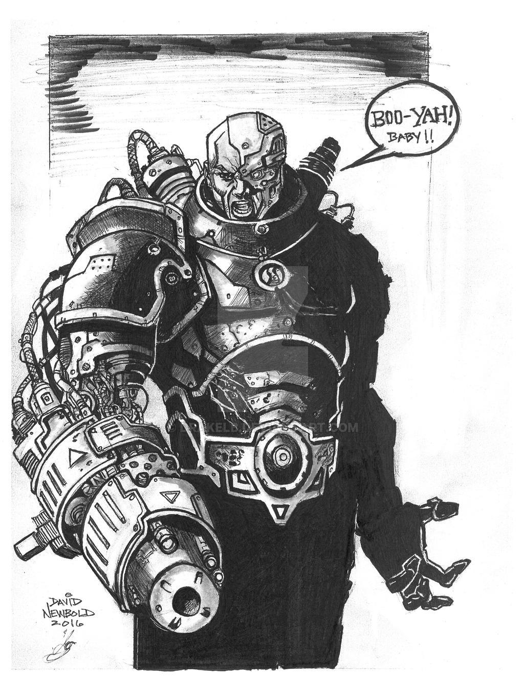 Cyborg by Drakelb