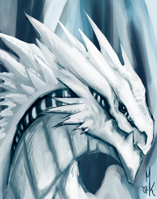 Icedragon by Uniformshark