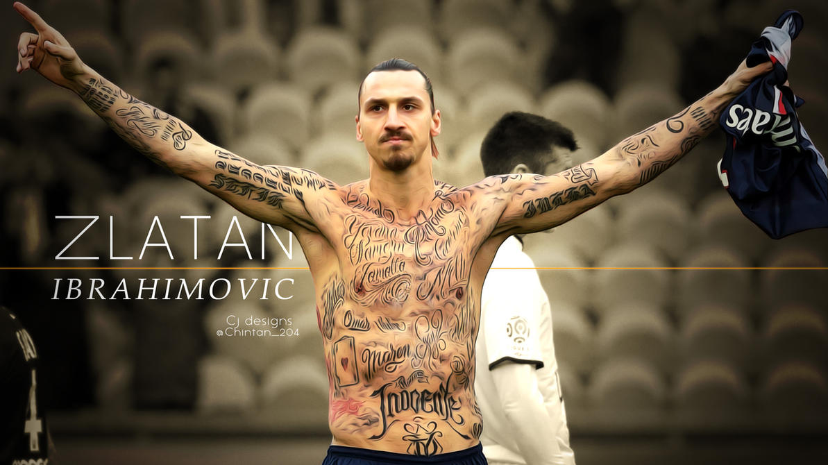 Zlatan ibrahimovic wallpaper psg by had3s204 on deviantart - The body shop barcelona ...