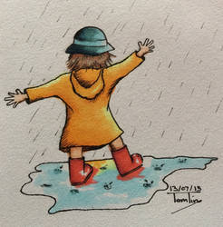 Puddles by TomlinArtwork