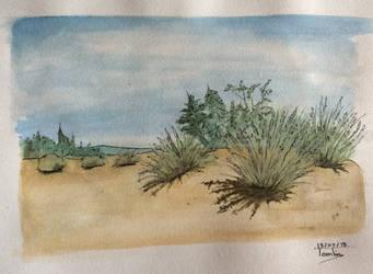 Desert by TomlinArtwork