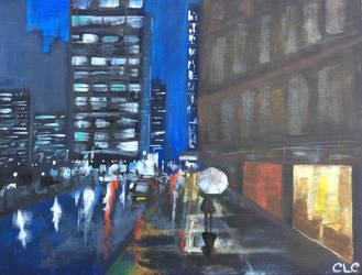 City of Lights by TomlinArtwork