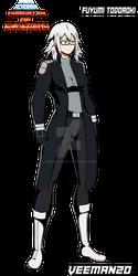 MHA AU: Daughter Of Endeavor Fuyumi Alpha Suit