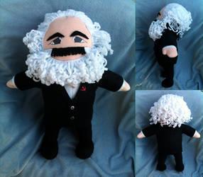 Karl Marx by SkullBurst