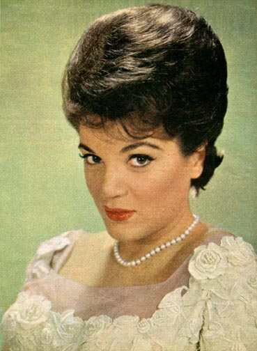 Connie Francis Glamour Photo by slr1238