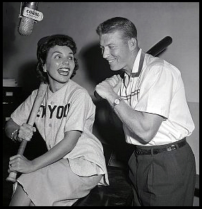 Image result for teresa brewer and mickey mantle