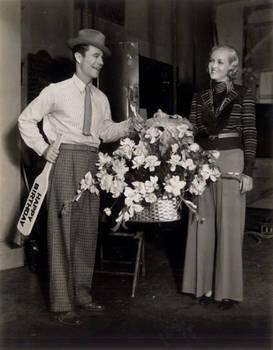 Joe E Brown and Patricia Ellis