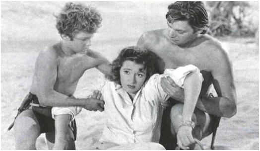 Johnny Sheffield,Nancy Kelly,Weissmuller by slr1238