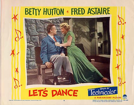 Betty Hutton 'Let's Dance' 1950 by slr1238