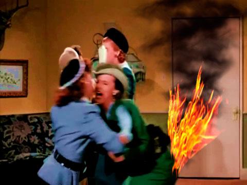 'Brideless Groom'-Skirt on Fire by slr1238