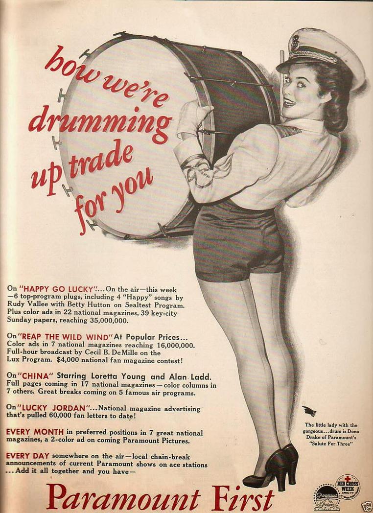 Dona Drake ad by slr1238