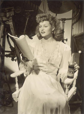 Rita Hayworth 'hot buns script' by slr1238
