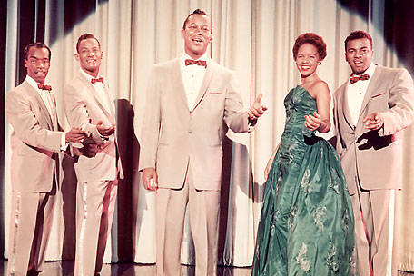 The Platters 1950s Singing Group By Slr1238