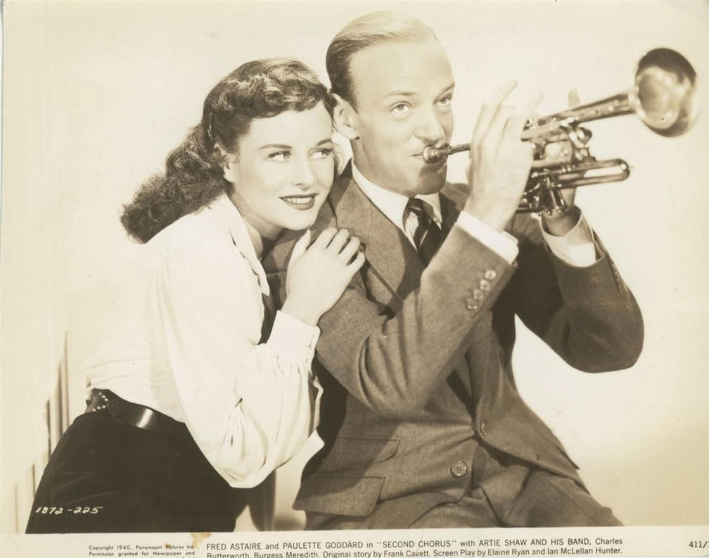 Paulette and Astaire 1940 by slr1238
