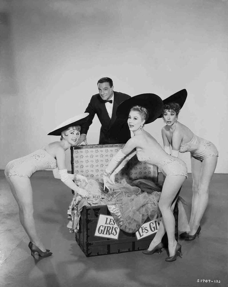 Taina Elg,Gene Kelly,Mitzi and Kay Kendall by slr1238
