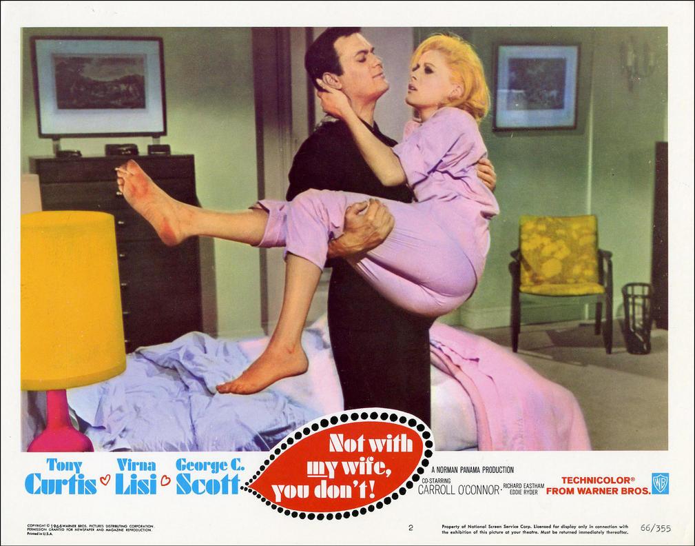 Tony and Virna Lisi 1966 by slr1238